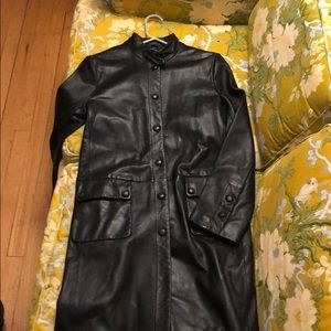 Vintage Kenneth Cole leather trench